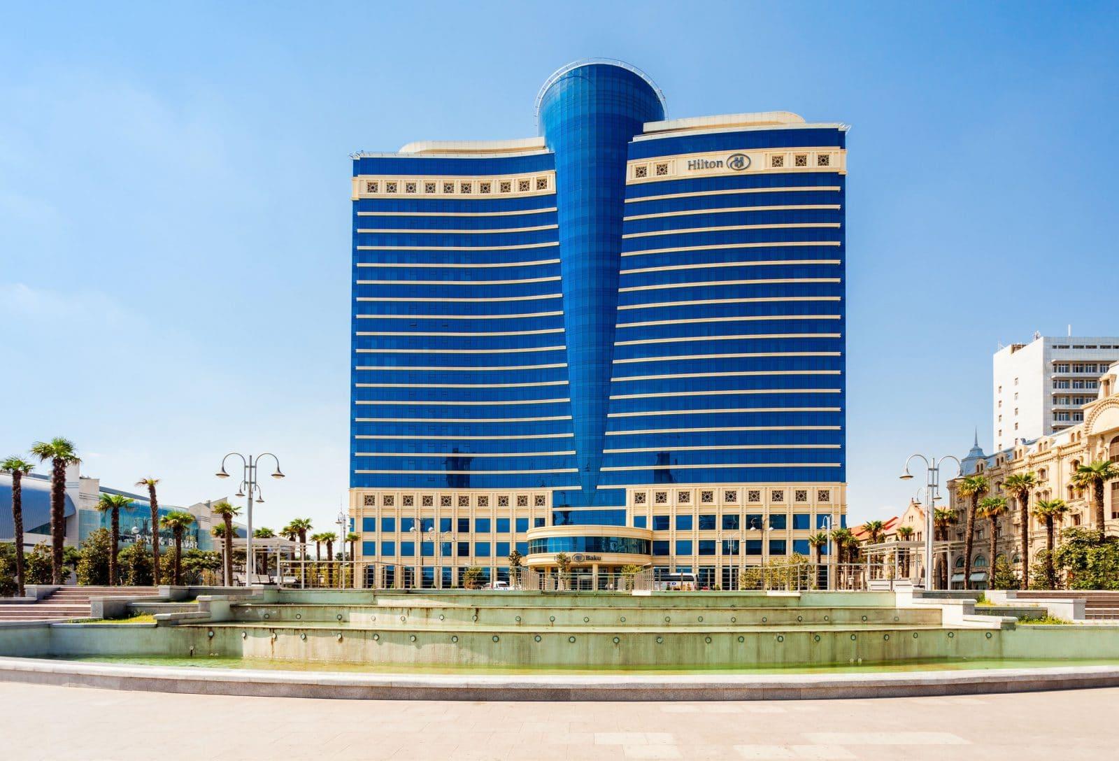 Hotéis 5 estrelas em Baku