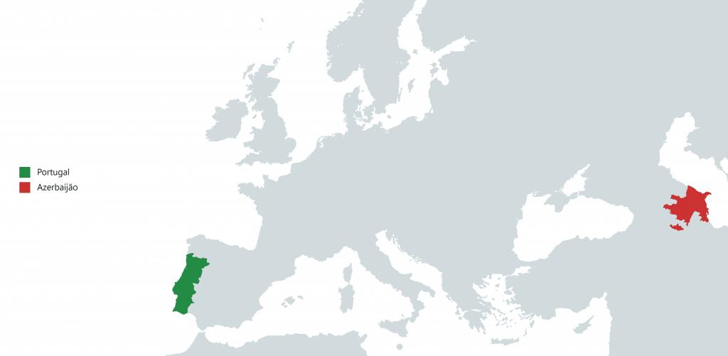 MAPA DO AZERBAIJÃO