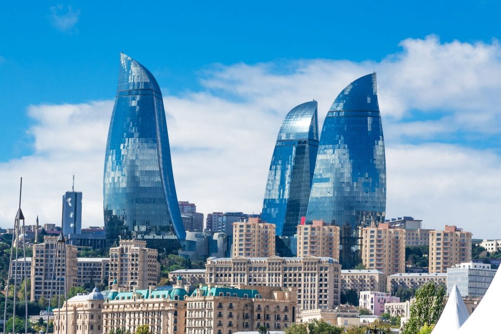 Baku, a capital do Azerbaijão