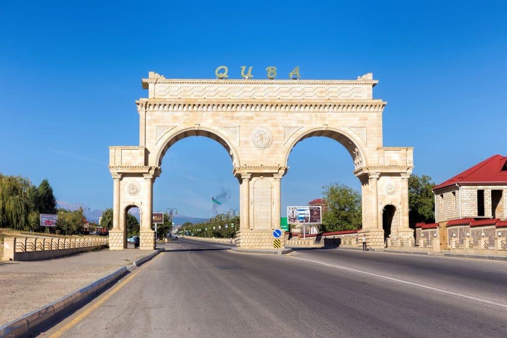 Quba e Aldeias na Montanha no Azerbaijão