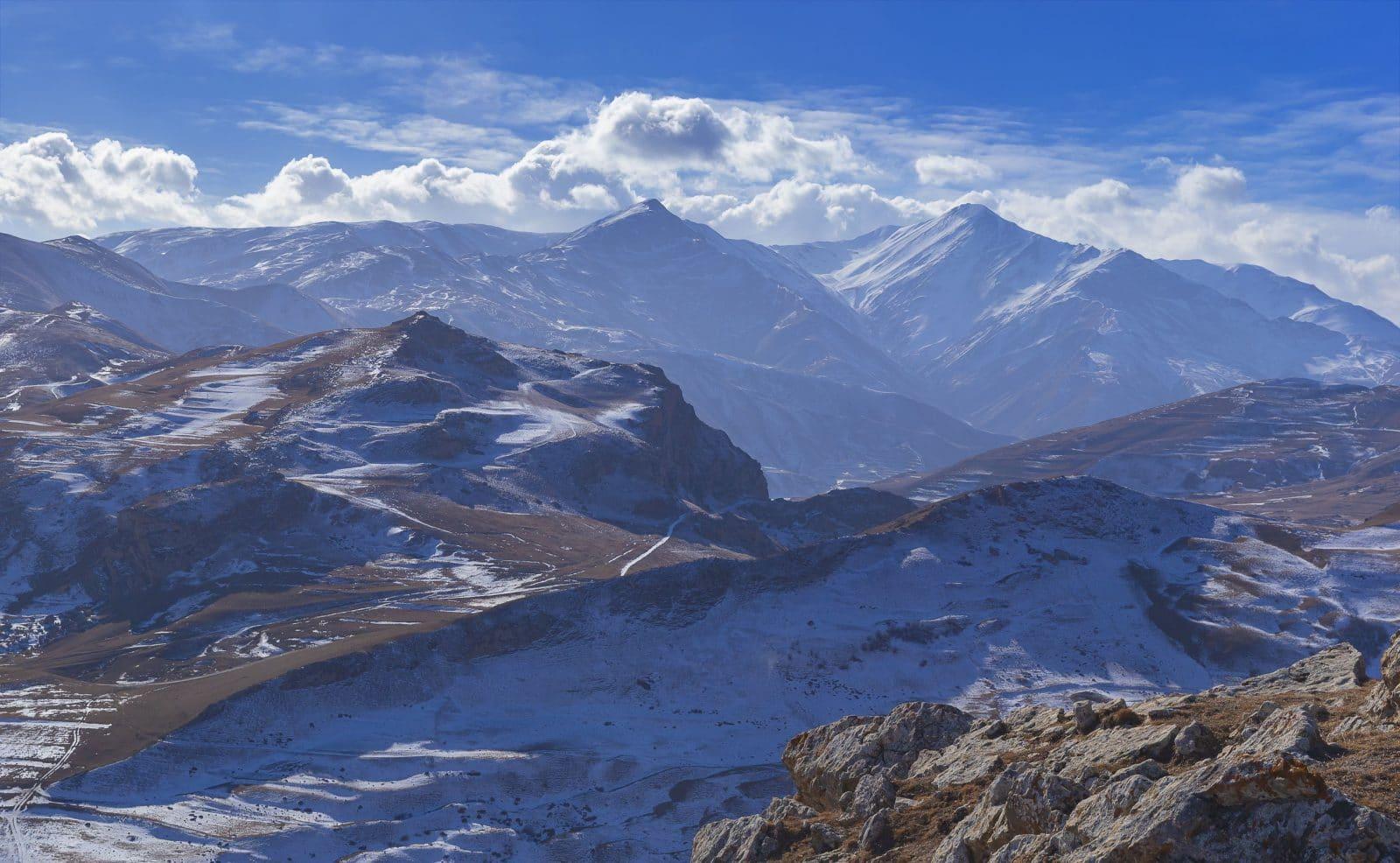 Montanhas Azerbaijao